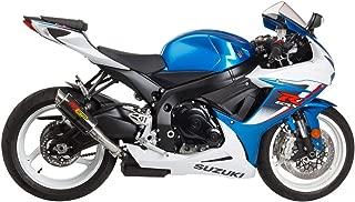 Hotbodies Racing 16-17 Suzuki GSX-S1000 MGP Growler Slip-On Exhaust (Carbon Fiber with Rolled Tip)