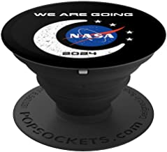 NASA Approved Artemis Orion We Are Going Moon To Mars 2024 - PopSockets Grip and Stand for Phones and Tablets