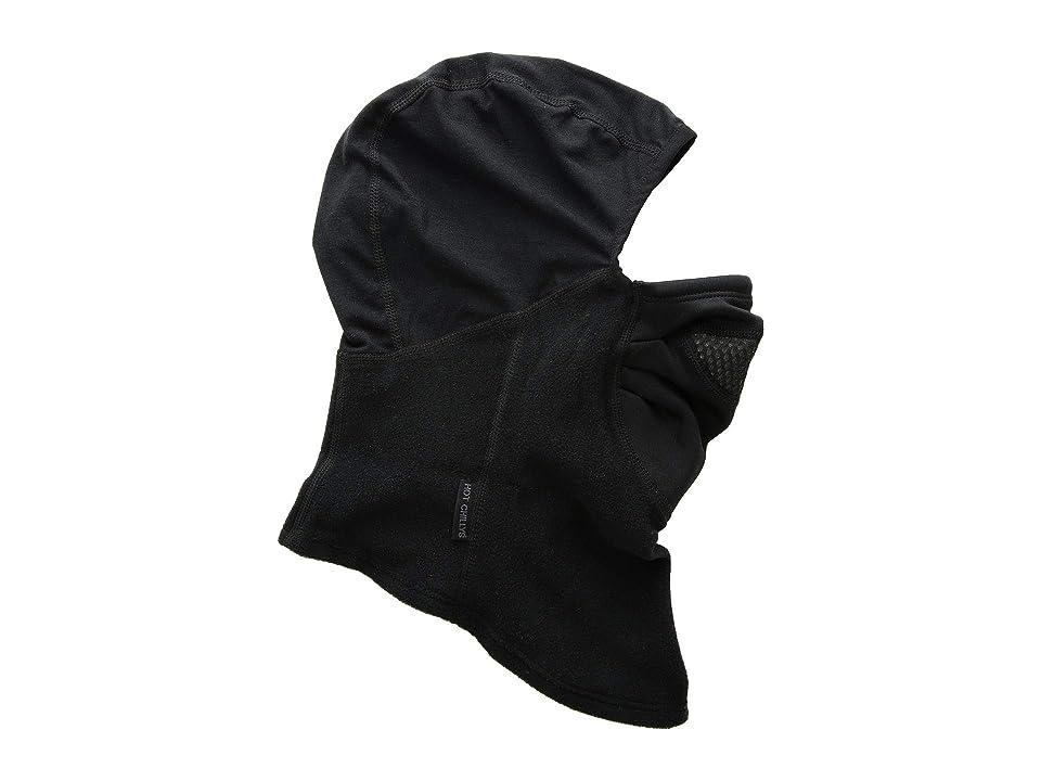 Hot Chillys Half/Half Balaclava w/ Chil-Block Mask (Black/Black) Scarves