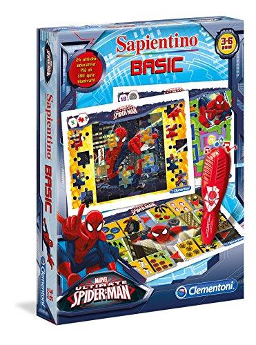 Clementoni - Penna Basic - Jeu avec Stylo (Version Italienne) Spiderman Ultimate Basic Spiderman Ultimate