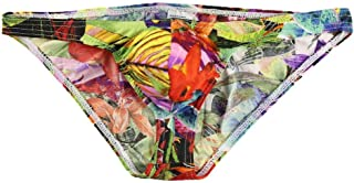 Xiang Ru Chic Print Modal Underwear Breathable Hipsters Boxers Briefs Underpants for Men