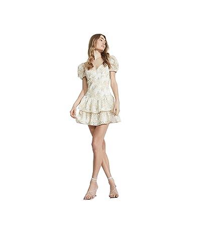 Bardot Broderie Corset Dress
