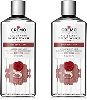 Sponsored Ad - Cremo Rich-Lathering Bourbon & Oak Body Wash, A Sophisticated Blend of Distiller's Spice, Fine Bourbon and ...