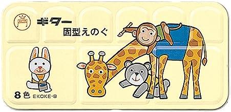 8 color set EKOKE-8 Teranishi chemical drawing material guitar solid paint (japan import)