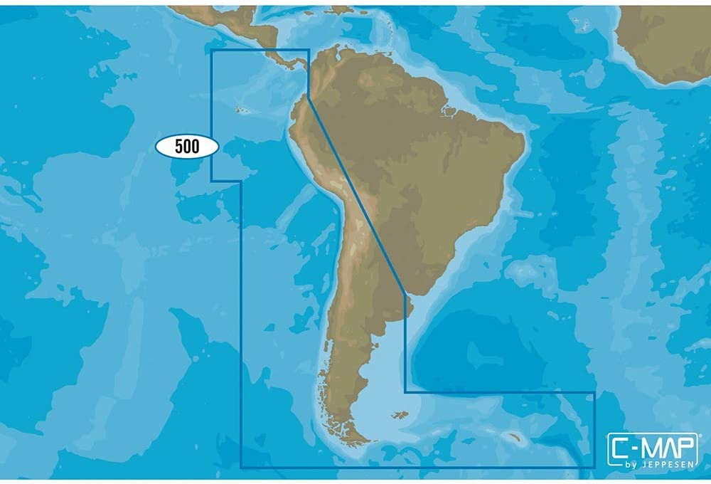 Max 72% OFF Austin Mall C-MAP 4D SA-D500 Costa Rica Chile to Falklands