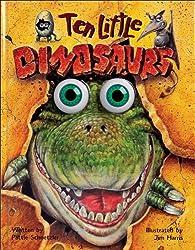 Ten Little Dinosaurs (Eyeball Animation) (Wiggle Eyes)