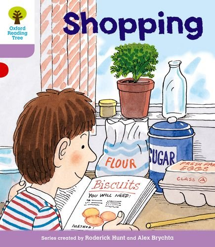 Oxford Reading Tree: Level 1+: More Patterned Stories: Shoppingの詳細を見る