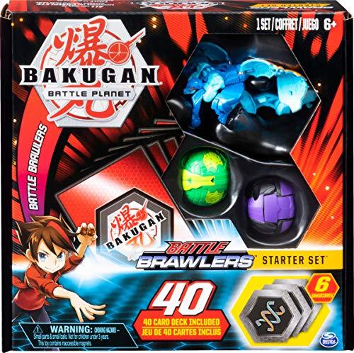 Bakugan BAKUGAN, Juego de iniciación de Battle Brawlers con Criaturas transformadoras BAKUGAN, Juego de iniciación al Azar suministrado para Edades de 6 años en adelante
