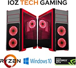 Custom Built Gaming Desktop for Fortnite Pubg PC AMD Ryzen 3 GTX 1050 1 TB 500W Power 1TB HDD 3.1 GHz 3.4 Turbo 60+FPS
