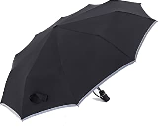 Automatic big Umbrella male 10k Folding umbrella fishing waterproof man sun umbrella golf parasol men rain umbrella,black