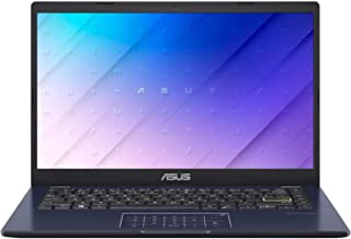 "ASUS E410 14"" FHD Laptop Computer_ Quad-Core Intel Pentium Silver N5030 up to 3.1GHz_ 4GB DDR4 RAM_ 128GB eMMC_ Type-C_ Of..."