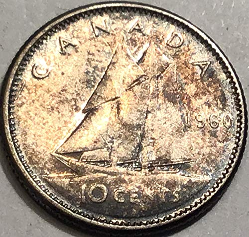 1960 CA Canadian Dime Good