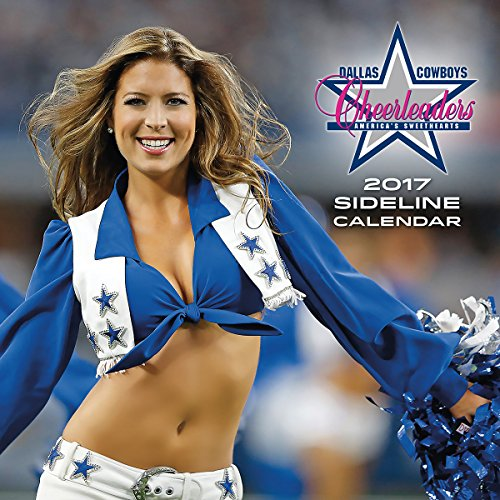 "Turner Licensing 2017 Dallas Cowboys Cheerleaders Wall Calendar, 12""X12"" (17998011961)"