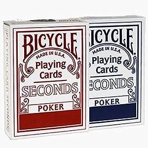 Bicycle Seconds Poker Talia kart mix kolorów