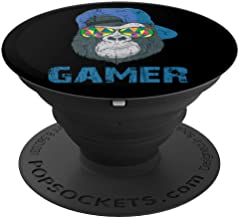 Gamer Boys Girls Video Game Lovers Geeks Nerds Gaming Gift - PopSockets Grip and Stand for Phones and Tablets
