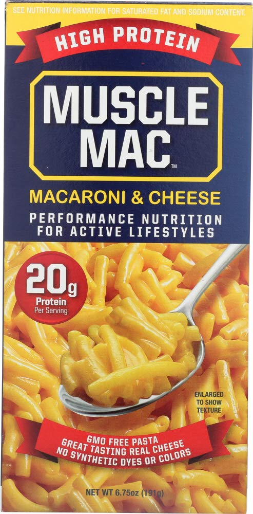 Muscle Mac (NOT A CASE) Macaroni and Cheese High Protein
