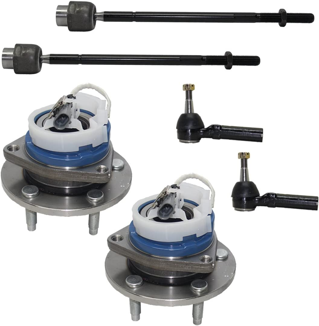 Detroit Axle - New 6-Piece Front Max Indefinitely 83% OFF Suspension Outer Kit All 4