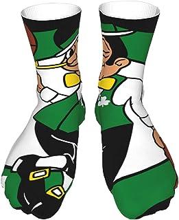 AsakawaKoutarou, Boston Celtics Moda Unisex Estampado Algodón Transpirable Deporte Casual Socks Calcetines Long Calcetines Thick Calcetines