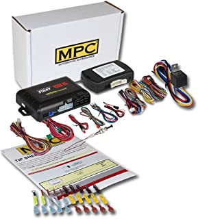 MPC Factory Remote Activated Remote Start Kit for 2011-2019 Kia Optima - Push-to-Start - w/Bypass - Firmware Preloaded