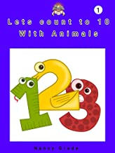 Lets count to 10: With animals (English Edition)