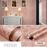Papel Pintado Autoadhesivo de PVC Dormitorio de Moda Simple Papel Tapiz de la Sala de Estar - 60CMX5M