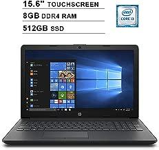 2019 Newest Premium HP Pavilion 15.6 Inch Touchscreen Laptop (Intel Core i3-7100U 2.40GHz, 8GB RAM, 512GB SSD, WiFi, HDMI, DVDRW, HD Audio, Webcam, Windows 10)