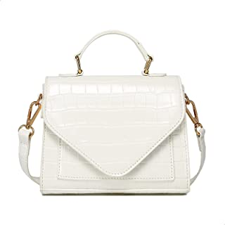 حقيبة كتف نسائية مبطنة وناعمة من كاTMICOO، محفظة كروسبودي خفيفة الوزن مع أشرطة سلسلة قابلة للإزالة