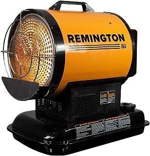 Remington REM-80-OFR-O Radiant Heating for up to 2000 Square feet, 80,000 BTU, Orange/Black