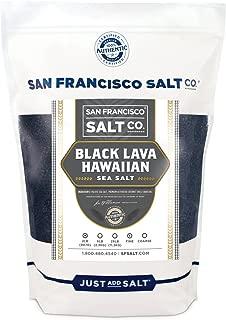 black lava salt benefits