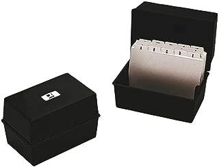 /kf04728/karteien Borse e Accessori di album biglietti da visita espositore in metallo Q Connect/ scatole di biglietti da visita