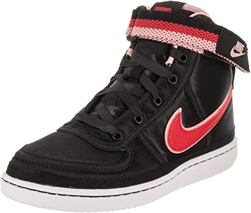 Nike Enfants Vandal High Supreme QS QS QS (PS) noir Speed rouge Bleached Coral Basketball chaussures 12 Enfants US c4d