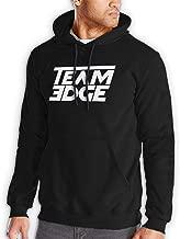 HLPD-WA Team Edge Men's Cool Hoodies Sport Pullover Black