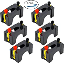 6pcs Lime2018, Series or Parallel D Battery Holder:Used for Physics Laboratory,School Electronic Experimenting,Great for Demos Teaching Basic Principles of Electricity & How a Simple Circuit Works