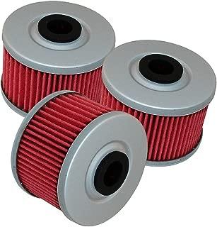 Caltric 3 Pack Oil Filter Fits KAWASAKI 110 KLX110 KLX-110 KLX110L 2002-2018