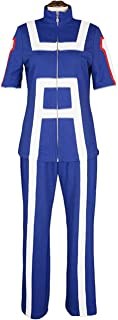 COSBOOM Halloween Izuku Midoriya Cosplay School Sports Uniform Training Suit My Hero Academia Cosplay Costume Dress