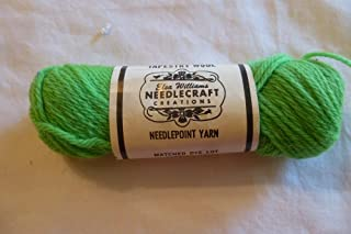 Spring Green Elsa Williams 100% Wool Needlepoint Yarn 40 Yards - Made in the U.S.A