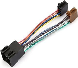 /107/16/pines a ISO plomo el juego de cables adaptador de alimentaci/ón cable conector de radio para Pioneer deh-series 2 autostereo Pioneer deh-series est/éreo receptor de radio cable de mazo de cables de repuesto 15/