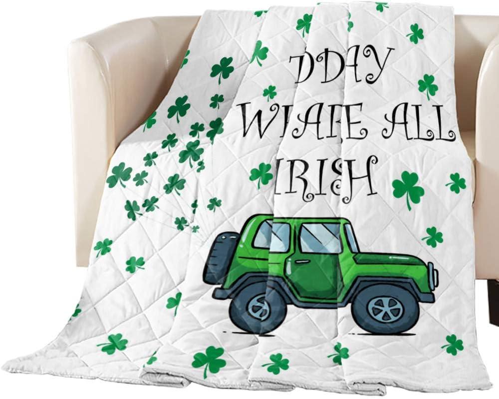 Comforter store Alternative dealer Duvet Insert Home Quilt St. Car Patrick's Day Green Lu