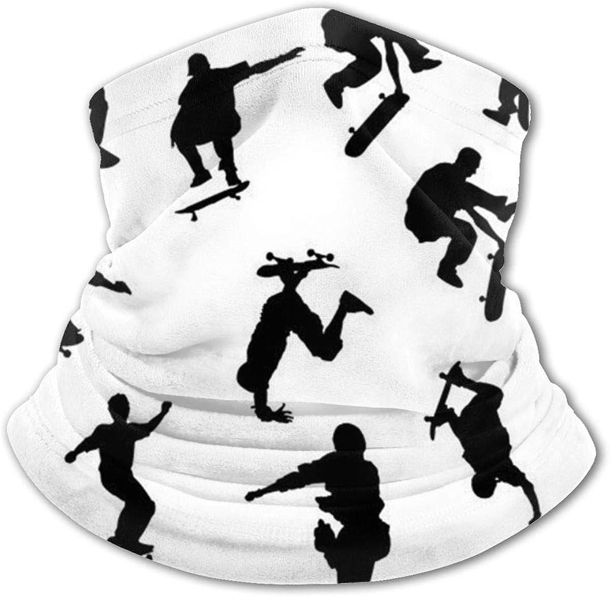 Skateboarders Headwear For Girls And Boys, Head Wrap, Neck Gaiter, Headband, Tenn Fishing Mask, Magic Scarf, Tube Mask, Face Bandana Mask For Camping Running Cycling