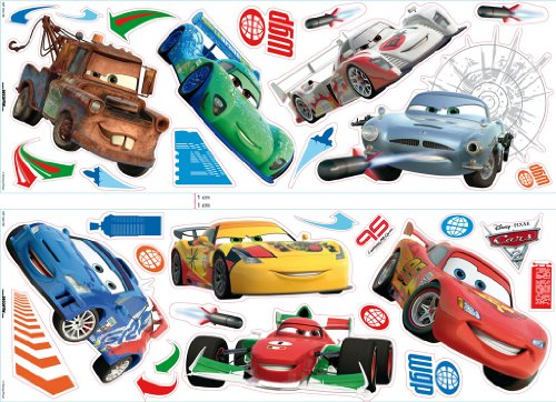 Decofun 40273B Cars - Wall Sticker