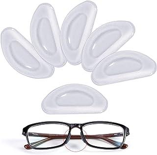 Mwoot 12 Paia Cuscinetti di Naso Adesivo Antiscivolo in Silicone Fermaocchiali per Occhiali Occhiali da Sole Occhiali Vist...