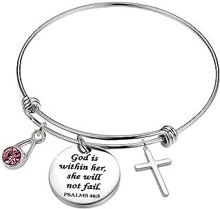 Inspirational/Motivational/Love/Memorial/Thankful/Beauty/Praise/Religious/Friendship Meaningful Message Charm Bracelets