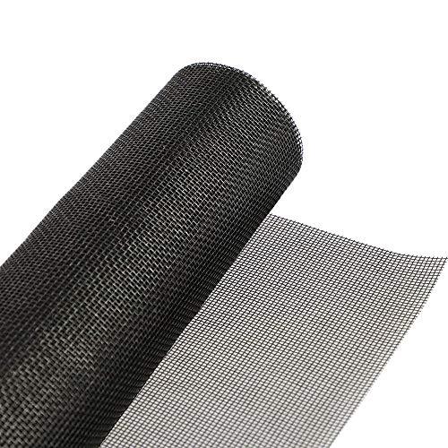 Loboo Idea - Mosquitera de fibra de vidrio, reemplazable, para ventana, para puerta y pared de patio