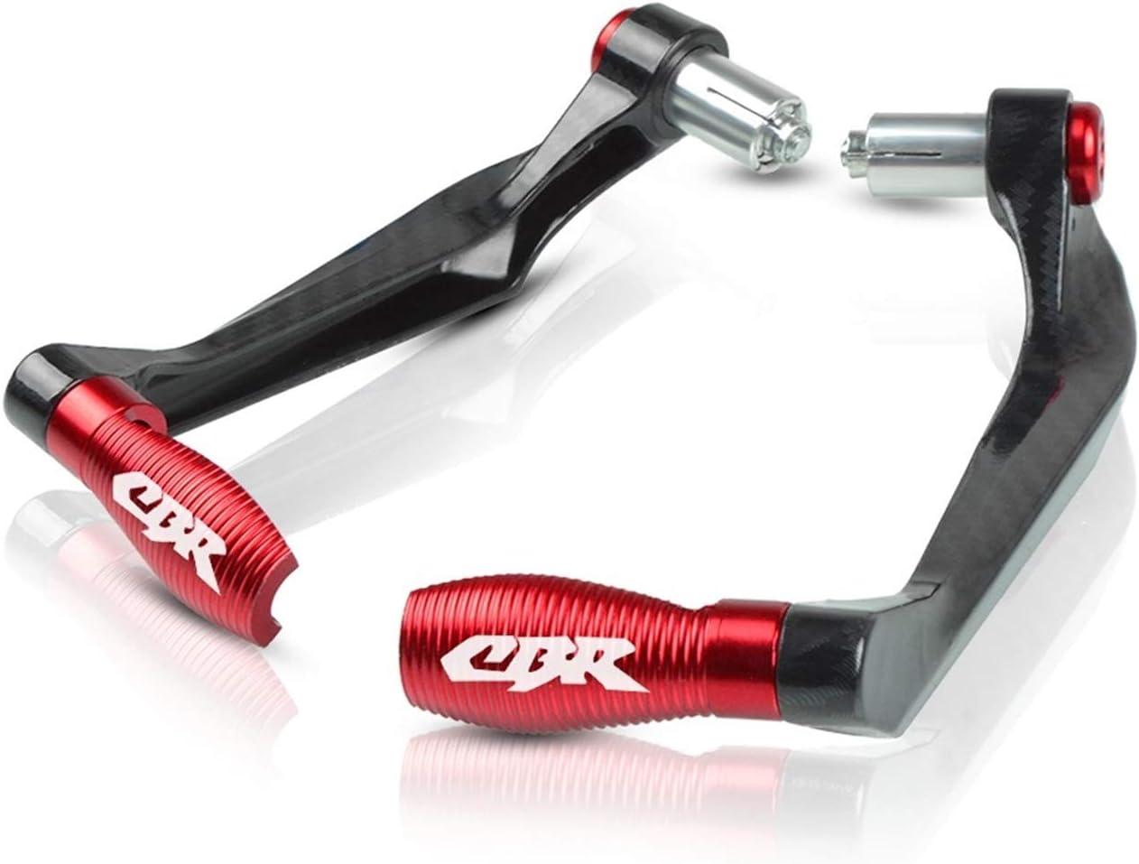 XUEFENG 7//822mm Manubrio per moto Brake Freke Levers Protector Guard per Honda CBR 600 650 900 929 954 Color : Black