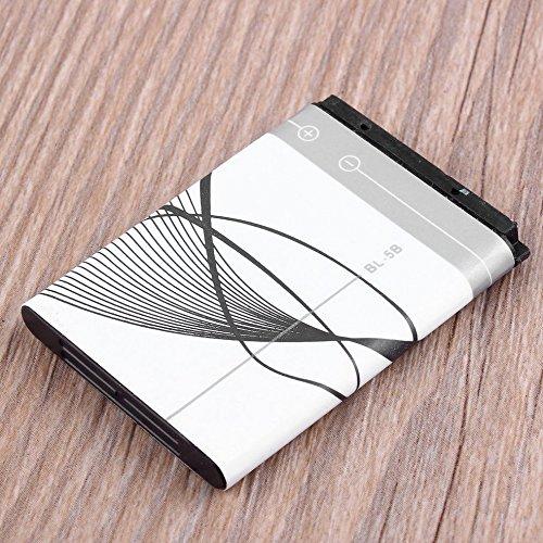 3.7V 890 mAh BL-5B Batterie für Nokia N90 3230 5300 5070 6121 6080