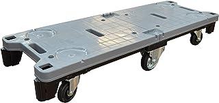 KAWAJUN (カワジュン) 河淳 ストックカート 420PC BK769 ペダルストッパーなし 長手 6輪 台車 カートラック 物流 品出し 補充 荷受け ストック 在庫 バックヤード 後方 天秤 てんびん