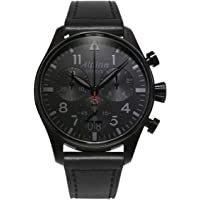 Alpina Startimer Pilot Chronograph Black Dial Men's Watch