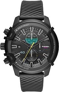 Orologio da uomo Diesel Quarzo analogico Taglia unica Silicone nero 32010669