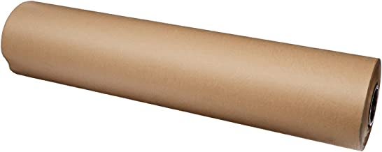 Brown Kraft Paper Roll 36 x 2400 Inches (200 Feet Long) Single Roll, 100% Recycled Material, for Table Cover, Gift Wrapping, Moving Paper, Packing, Postal, Shipping. by Woodpeckers