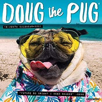Doug the Pug 2021 Wall Calendar  Dog Breed Calendar